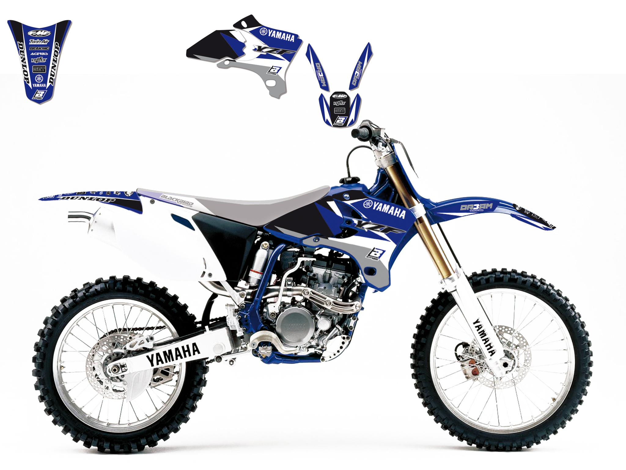 2007 Yzf 450 Graphics Related