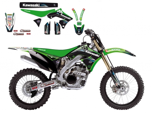kit deco replica kawasaki racing team mx1 250 kx f 2009 2012 crossmoto fr 11 08 2017