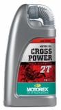 huile melange cross power  2 T MOTOREX   100%  synthese huile moteur  2 T