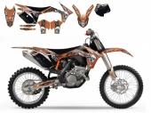 kit deco tribal skull 2   SX  SX-F  2011-2012 kit deco