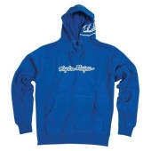 SWEAT TLD SIGNATURE 2 FLEECE BLEU ROYAL sweatshirt