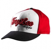 CASQUETTE TROY LEE DESING SWEET PEA ROUGE casquettes