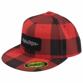 CASQUETTE TROY LEE DESING LUMBERJACK ROUGE casquettes