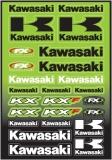 planche auto collants  kawasaki  planche auto collants