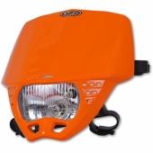 Plaque Phare Ufo Cruiser Orange Homologuee plaques phare