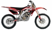 kit deco complet flu desings TS1  250 CRF  2006-2009 kit deco