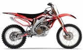 kit deco complet flu desings TS1 450 CRF 2005-2008 kit deco