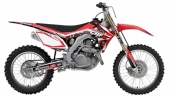 kit deco complet flu desings TS1 450 CRF  2013 kit deco