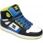 BASKETS  DC Shoes Inbound white/black/royal baskets