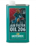 Air Filter Oil 206 1L MOTOREX huile et graisse filtre a air