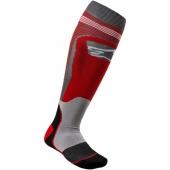 chaussettes alpinestars TECH MX  ROUGE jambieres chaussettes
