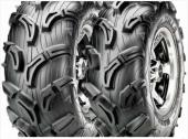 PNEUS ARRIERE MAXXIS ZILLA MU01 taille 25x10-12 pneus  quad maxxis