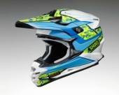 Casque cross SHOEI VFX Turmoil TC2 casques