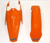 KIT GARDE BOUE UFO 85 SX  2004-2010 kit garde boue ufo av et ar