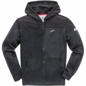 SWEAT ALPINESTARS HOODY ZIP NOIR sweatshirt