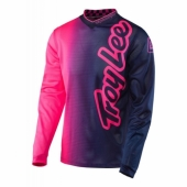 Maillot Enfant Troy Lee Designs GP Air  Rose Fluo /Bleu maillot pantalon kids