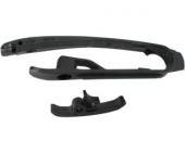 Kit patin de bras oscillant + patin de chaîne inférieur NOIR 250 SX-F 2013-2015 patins bras oscillant