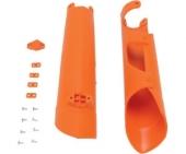 PROTECTIONS DE FOURCHE UFO ORANGE 250 SX-F 2013-2014 protections fourche