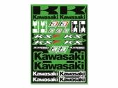 KIT AUTOCOLLANTS UNIVERSEL BLACKBIRD KAWASAKI planche auto collants