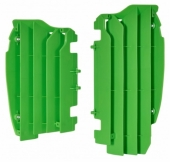 Cache Radiateur Polisport Vert Kawasaki 450 KX-F 2012-2015 cache radiateur