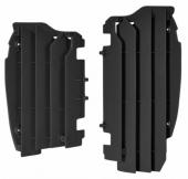 Cache Radiateur Polisport Noir Kawasaki 450 KX-F 2012-2015 cache radiateur