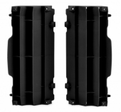 Cache Radiateur Polisport NOIR Ktm 125 et + EXC/EXC-F 2008-2015 cache radiateur