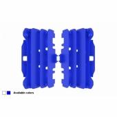 Cache Radiateur Polisport Bleu Yamaha 250 YZ-F 2014-2016 cache radiateur
