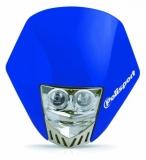 Plaque Phare Polisport Hmx Led Bleu plaques phare