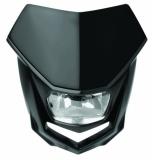 Plaque Phare Polisport Halo Noir plaques phare