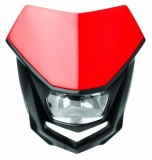 Plaque Phare Polisport Halo ROUGE plaques phare