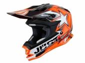 CASQUE JUST1 MOTO X ORANGE casques