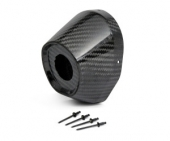 EMBOUT CARBONE PRO CIRCUIT TI5/TI6 88.9mm/31.8mm embout échappements