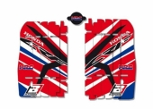Kit Déco Grille De Radiateur Blackbird Racing Replica Team Hrc 2015 Honda 450 CR-F 2013-2015 kit deco radiateur