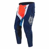 Pantalon Troy Lee Designs SE Starburst Orange Fluo maillots pantalons