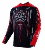 Maillot Troy Lee Designs GP Pinstripe Noir maillots pantalons