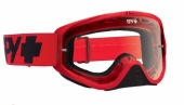LUNETTES SPY Woot Mono rouge écran clair lunettes