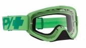 LUNETTES SPY Woot Mono  verte écran clair lunettes