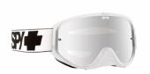 LUNETTES SPY Woot Race White blanche  écran AFC miroir argent lunettes