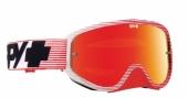 LUNETTES SPY Woot Race  rouge écran AFC miroir rouge lunettes