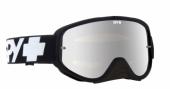 LUNETTES SPY Woot Race noir écran AFC miroir argent lunettes