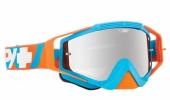 LUNETTES SPY Omen Happy DNA bleu/orange écran AFC miroir argent lunettes
