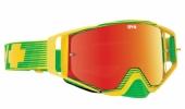 LUNETTES SPY Ace  jaune/vert écran AFC miroir rouge lunettes