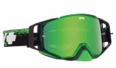 LUNETTES  SPY Ace Masked  verte écran AFC miroir vert lunettes