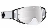 LUNETTES SPY Ace  blanche écran AFC miroir argent lunettes
