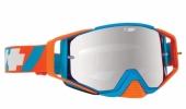 LUNETTES SPY Ace Happy DNA bleu/orange écran AFC miroir argent lunettes