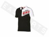 Polo YAMAHA Classic 2016 noir/ blanc Homme paddock yamaha