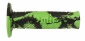 Revêtements de poignée Domino Snake vert/noir revetements