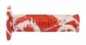 Revêtements de poignée Domino Snake rouge/blanc revetements