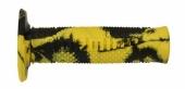 Revêtements de poignée Domino Snake jaune/noir revetements