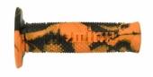 Revêtements de poignée Domino Snake orange/noir revetements